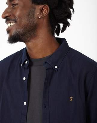 Farah Oxford Shirt Navy