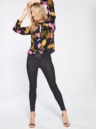 Whistles Digital Bloom Print Blouse