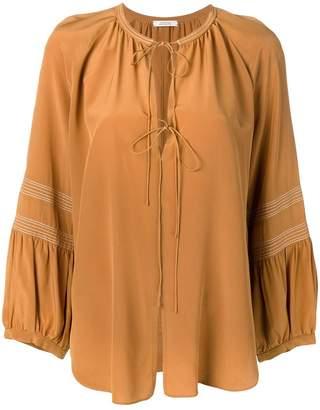 Schumacher Dorothee long-sleeve flared blouse