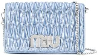 Miu Miu foldover top shoulder bag