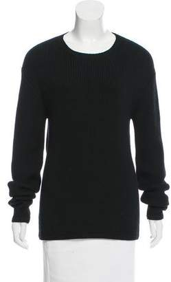 L'Agence Crew Neck Long Sleeve Sweater