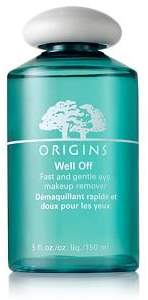 Origins Well Off Fast and Gentle Eye Makeup Remover 5 fl oz (Qunatity of 2) by