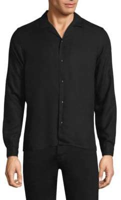 The Kooples Skull Head Button-Down