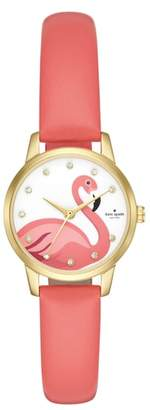 Kate Spade Metro Leather Strap Watch, 26mm