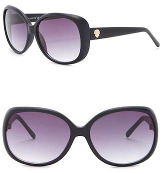 Vince Camuto Plastic Oval 68mm Sunglasses