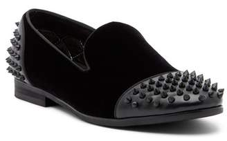 Steve Madden Cachet Cap Toe Studded Smoking Slipper