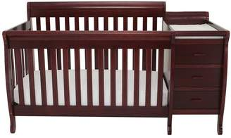 Kimberly AFG International Furniture 3-in-1 Convertible Crib and Changer Combo