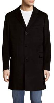 Saks Fifth Avenue Buttoned Cashmere Topcoat