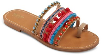 Mossimo Supply Co. Women's Kay Slide Sandals - Mossimo Supply Co. $27.99 thestylecure.com