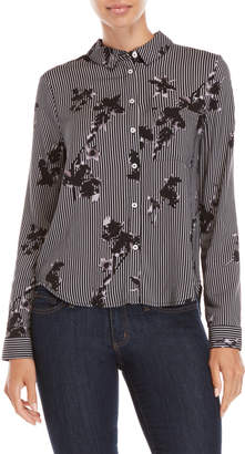 Max Jeans Printed Pocket Shirt