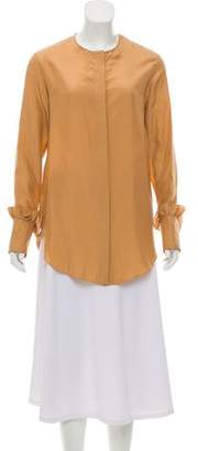 Nina Ricci Silk Long Sleeve Blouse w/ Tags