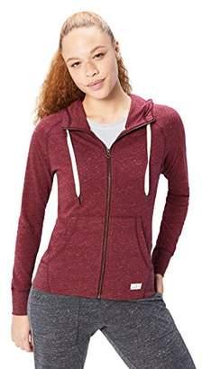 Core 10 Amazon Brand Women's Lightweight Cool Down Full-Zip Hoodie