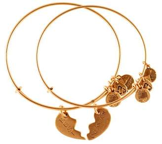 Alex and Ani Best Friends Forever Set of Two Bangles, Charity by Design Collection