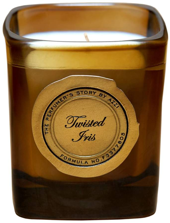 The Perfumer's Story by Azzi Twisted Iris Candle
