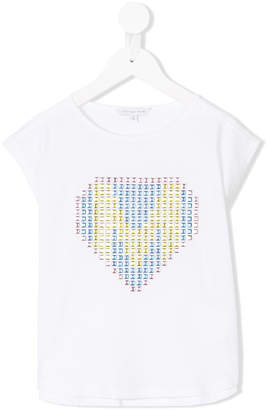 Little Marc Jacobs heart motif T-shirt