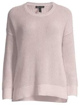 Eileen Fisher Women's Chunky Knit Sweater - Dark Ceramic - Size XS