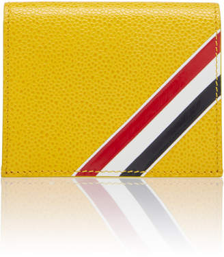 Thom Browne Striped Leather Folding Card Case