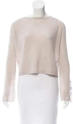 Autumn Cashmere Cashmere Semi Sheer Sweater w/ Tags
