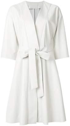Drome belted midi coat