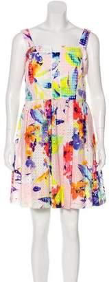 Trina Turk Tie-Dye Embroidered Dress w/ Tags