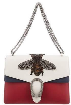 4c8e7b41e10 Gucci 2017 Medium Dionysus Embellished Bee Shoulder Bag