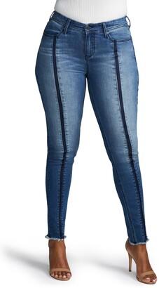 NYDJ Curves 360 by Boost Shadow Seam Skinny Jeans