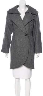 Surface to Air Wool Knee-Length Coat w/ Tags