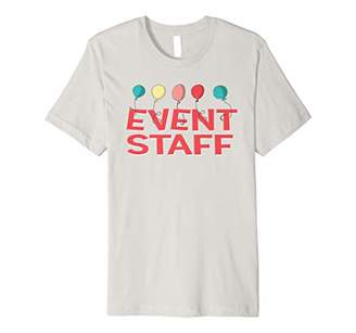 Circus Carnival Event Staff Shirt with Balloons Shirt