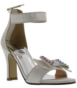 Badgley Mischka Kendall Embellished Bow Sandal