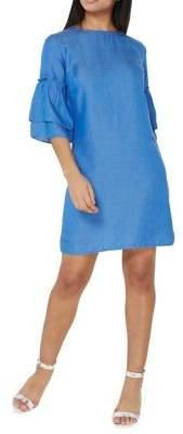 Dorothy Perkins Ruffle Shift Dress