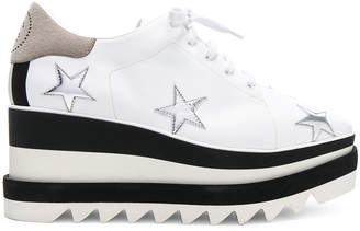 Stella McCartney Star Embroidered Sneakelyse Platform Sneakers