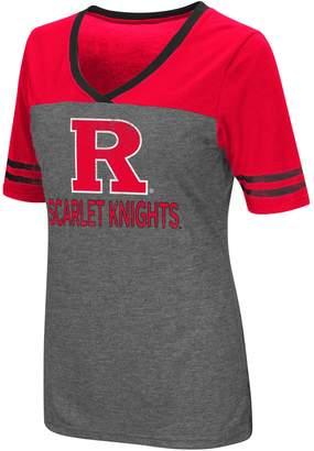 NCAA Women's Campus Heritage Rutgers Scarlet Knights Varsity Tee