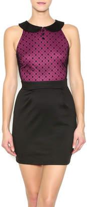 Mystic Fuchsia Party Dress