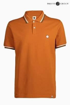 Next Mens Pretty Green Barton Short Sleeve Polo