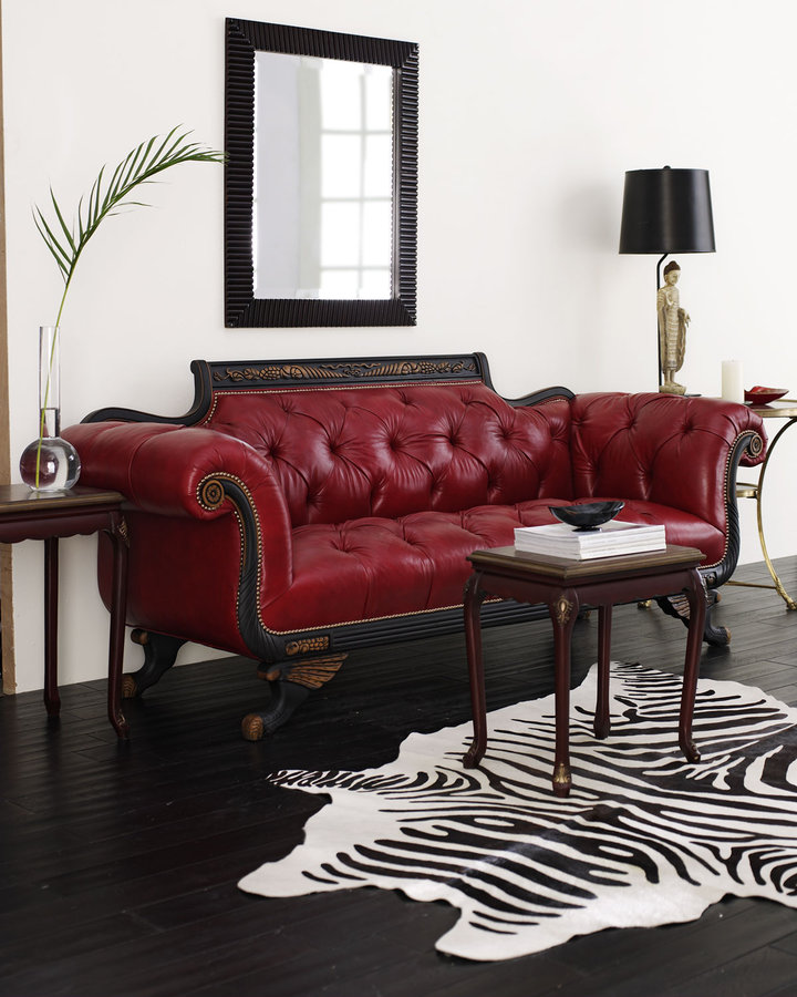 Trend Alert Feminine Nailhead Furniture