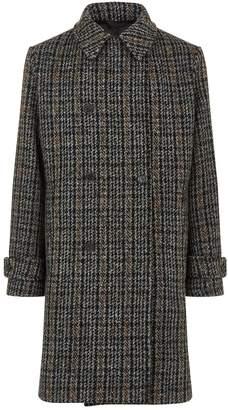 Stella McCartney Lance Check Wool Coat