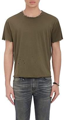 R 13 Men's Destroyed Pima Cotton T-Shirt