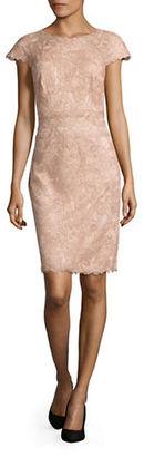 Tadashi Shoji Floral Lace Dress $379 thestylecure.com