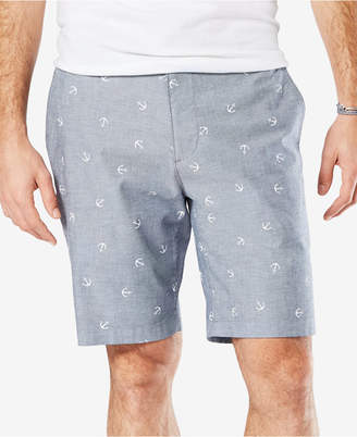 "Dockers Classic Fit 9.5"" Printed Perfect Stretch Shorts"
