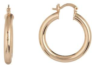 Free Press Tube 30mm Hoop Earrings