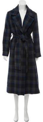 Tanya Taylor Long Wrap Coat