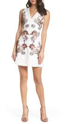 Foxiedox Katrin Embroidered Sheath Dress