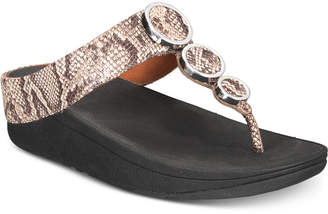 FitFlop Halo Toe-Thong Sandals Women's Shoes