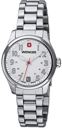 Wenger 01.0521.102 - Women's Watch, Silver Color