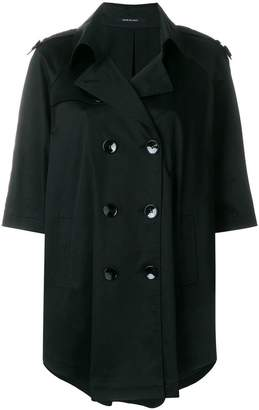 Tagliatore short sleeved trench coat