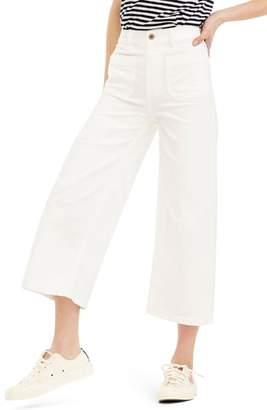 J.Crew Point Sur Wide Leg Crop Jeans