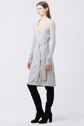Linda Cashmere Wrap Dress $378 thestylecure.com