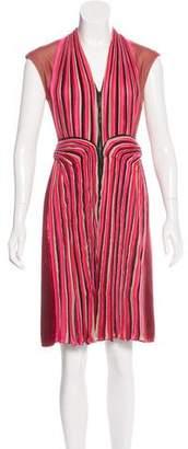 Bottega Veneta Pleated Panel Dress