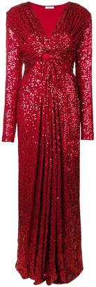 P.A.R.O.S.H. allover sequin gown