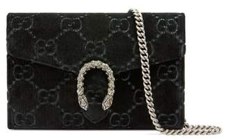 Gucci Dionysus Velvet Wallet on a Chain